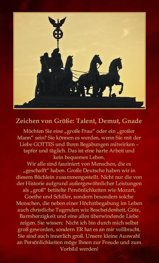 """Buch """"Große Deutsche"""" Rückseite"""
